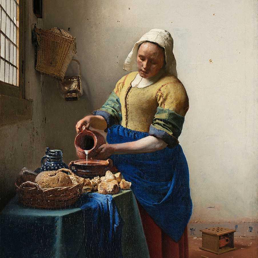 Vermeer Lechera