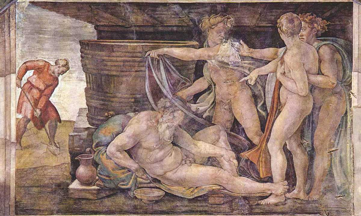 Michelangelo - Borrachera de Noa