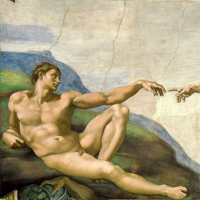 Michelangelo - Creación de Adan